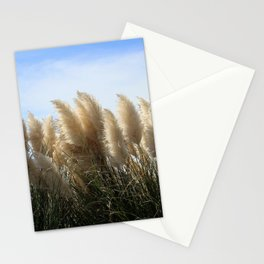 Bushes with sky on background Stationery Cards