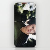 harry styles iPhone & iPod Skins featuring Harry Styles  by Becca / But-Like-How