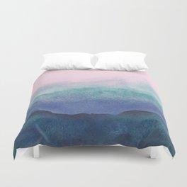 Pastel watercolor gradient (everyday 2/365) Duvet Cover