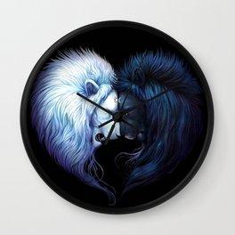 LION--HEART Wall Clock