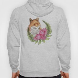 Fox in Bloom Hoody