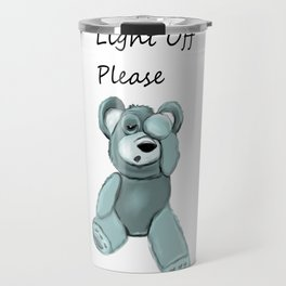 Light off please Travel Mug