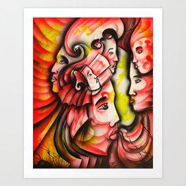 """Clash Leader"" Art Print"