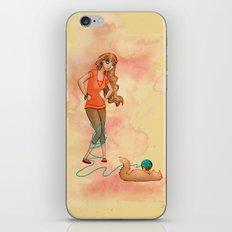 Tangled Trouble iPhone & iPod Skin
