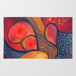 Dance in Orange Rug