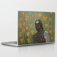 the winter soldier Laptop & iPad Skins featuring the winter soldier by atomickohl