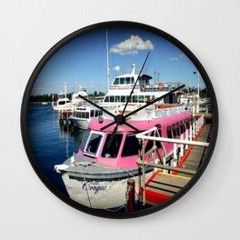 Think Pink! Wall Clock