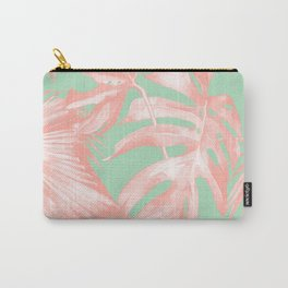 Island Love Seashell Pink + Mint Green Carry-All Pouch