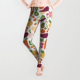Cute vegetables Leggings
