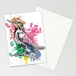 Kingfisher painted Stationery Cards