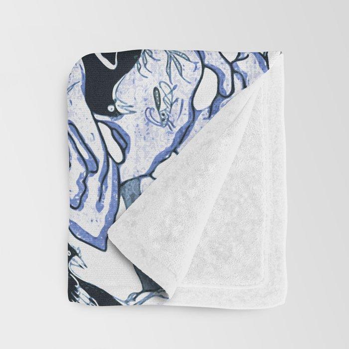 Blue vintage chinoiserie flora Decke