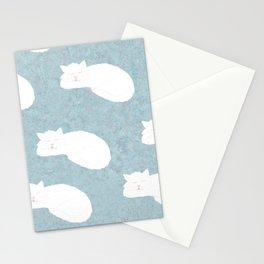 Sleepy Cat Stationery Cards