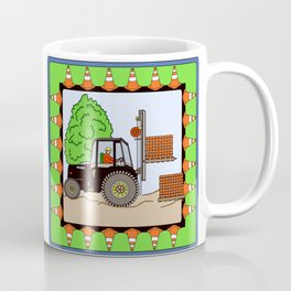 Fork Lift Block Coffee Mug