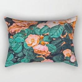 Vintage Blossom || #photography #nature #digitalart Rectangular Pillow