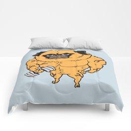 Buff Pug Comforters