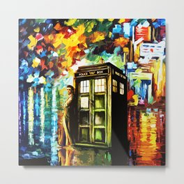 Time Lord Metal Print