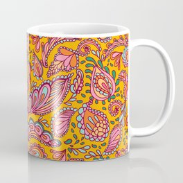 Boho Gypsy Gold Coffee Mug