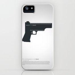 Shoot film not people iPhone Case