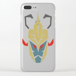 Decepticon MummRa Clear iPhone Case