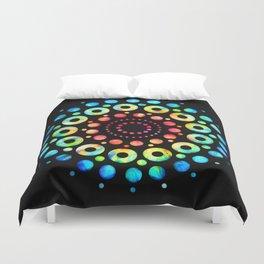 Multi-Color Mandala Tie-Dye Circle Shapes Duvet Cover