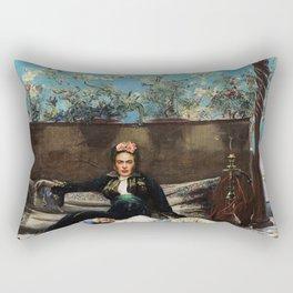 Oriental Lovers Rectangular Pillow