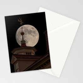 Moon Over Mount Vernon Stationery Cards