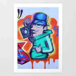 80s B-Boy Art Print