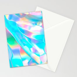 Blue Opal Iridescent  Stationery Cards