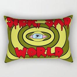Sick Sad World Rectangular Pillow