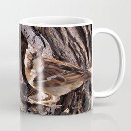 House Sparrow Keeping House Coffee Mug