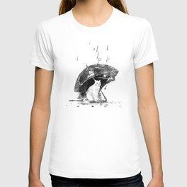 In the rain... T-shirt