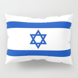Israeli Flag of Israel Pillow Sham