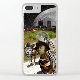 Black Women Are The Mules Of The Earth - Zora Neale Hurston Clear iPhone Case
