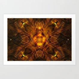 Illusion Of Matter Art Print