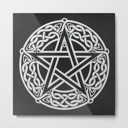 Celtic Pentagram Metal Print