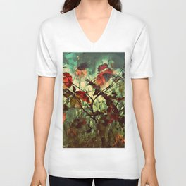 Plants at Play Unisex V-Neck