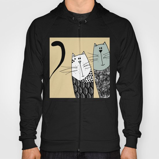 Mr & Mrs Cat Hoody