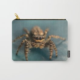 Small jumping spider Carry-All Pouch