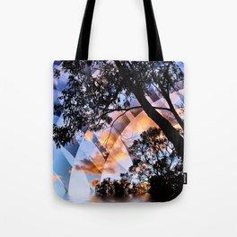 Digital Nature Tote Bag