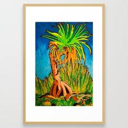 Pandanus Framed Art Print