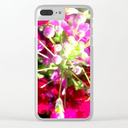 Love Life Clear iPhone Case