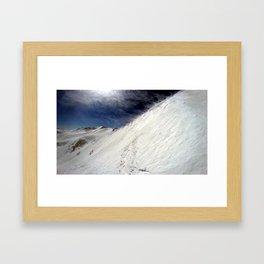 Windy Slopes Framed Art Print