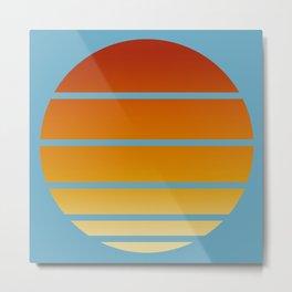 Retro Circle 03 Metal Print