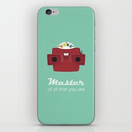 Master of All That You See iPhone Skin