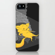 yellow chippy iPhone (5, 5s) Slim Case