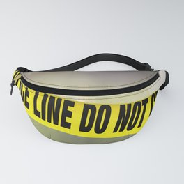 Police Line Do  Not Cross Fanny Pack
