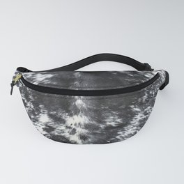 Cowhide black and white | Textures Fanny Pack