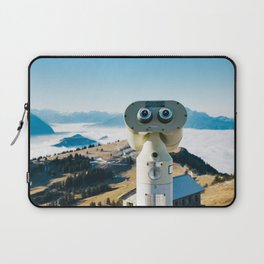 Alps of Switzerland Viewpoint Laptop Sleeve