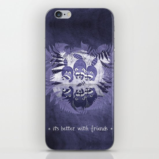 It´s Better With Friends iPhone & iPod Skin