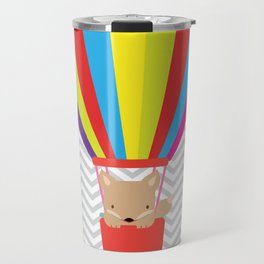 hot air balloon , Travel Mug